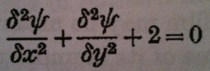 Equation for stress in a section under torsion